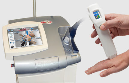 Laser diodiowy Vectus oraz czytnik melaniny Skintel